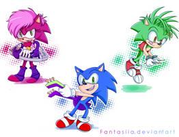 We're the Sonic Underground by Ipun