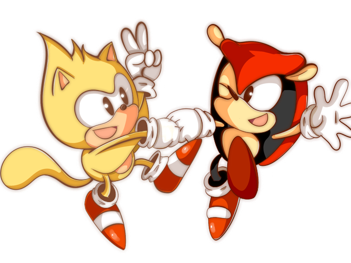 Top 5 Favorite Video Game Characters - Page 2 Mighty_and_ray_by_fantasiia-d4i41mv