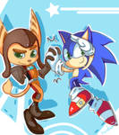 .:Sonic and Ratchet:. comm