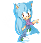 Solara the Hedgehog .:Commission:.