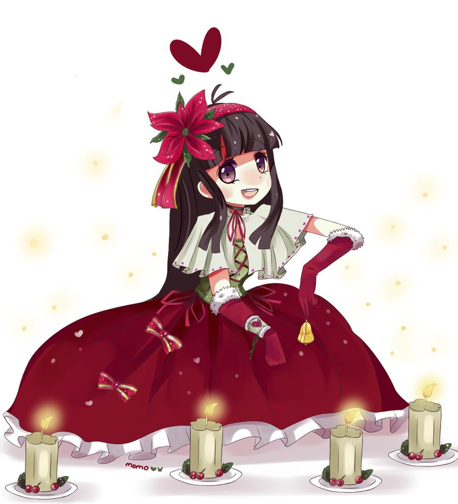 Ryoko: Happy Holidays 2012 by Fumuu