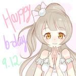Happy B-day Kotori