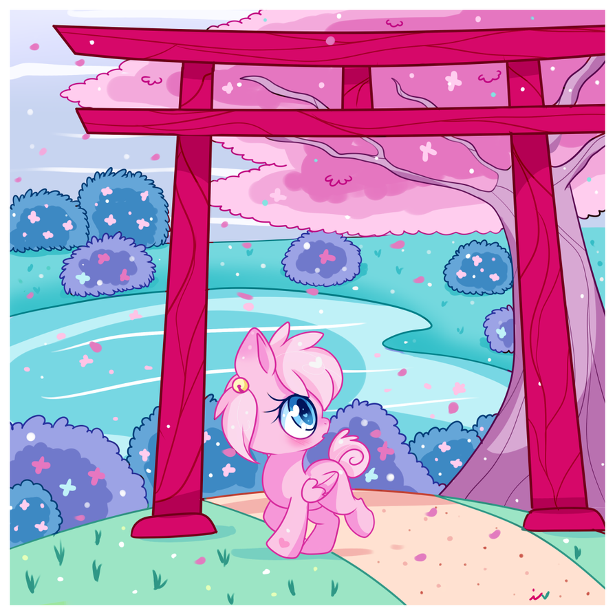 Sakura Tree by Ipun