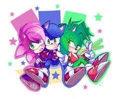 Sonic Underground by Ipun