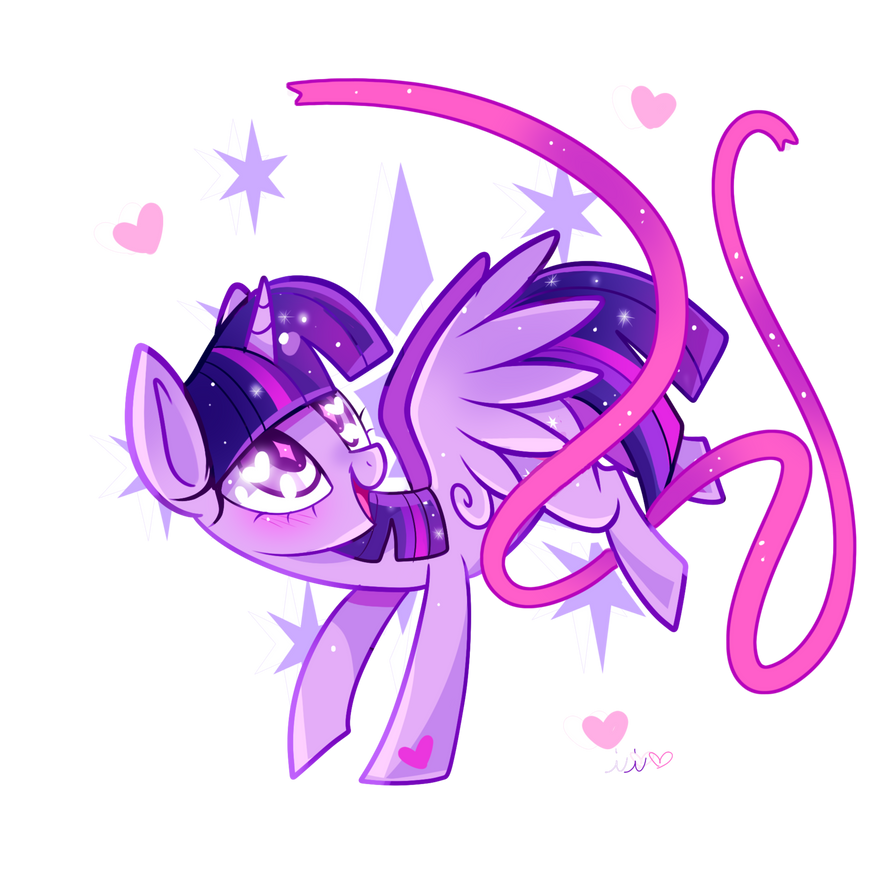 pretty_in_ribbons__twilight_sparkle_by_i