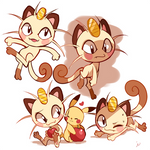 Meowth Doodles