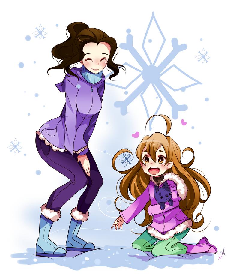 First Snow by Ipun