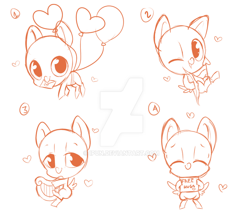 Animated Valentine S Day Ych Closed By Ipun On Deviantart