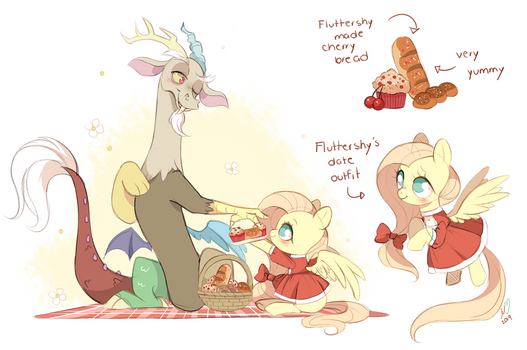 Fluttershy and Discord's Date!