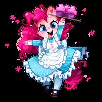 MLP Maid Series:/ Pinkie Pie