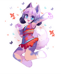 Colored Sketch: Meiki