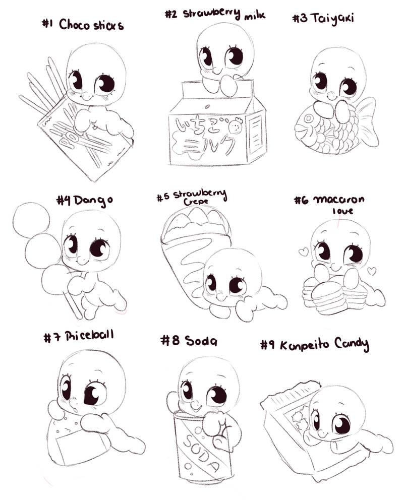 My Little Cutie July Batch #10 - JAPANESE TREATS