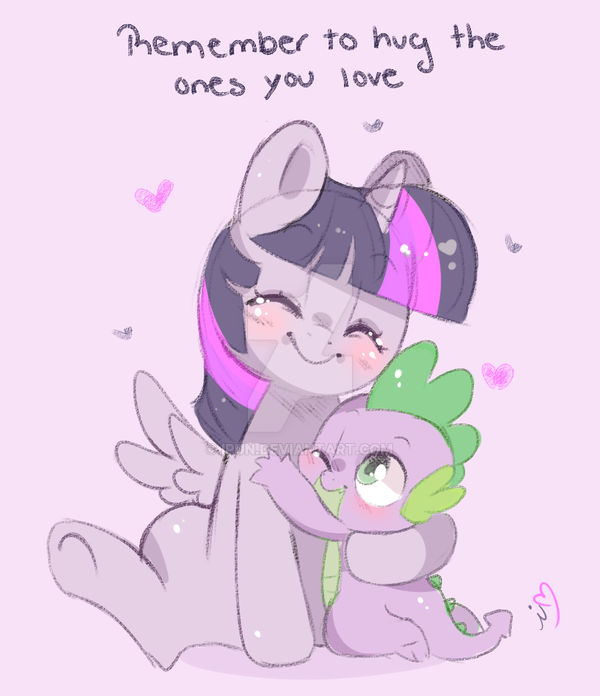 HUG YOUR LOVED ONES