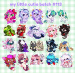 My Little Cutie Batch #113