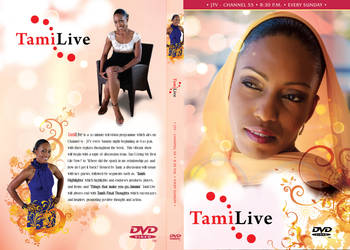 TamiLive DVD Cover Design by jlampley
