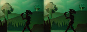 Unknow Forest stereoscopic image 3D