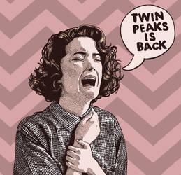 Twin Peaks is Back by andresarte