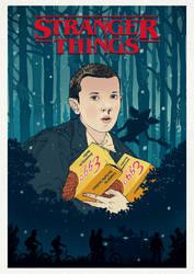 Stranger Things Fan Poster by andresarte