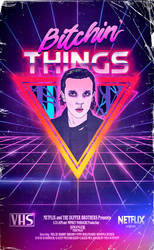 Bitching Things retro poster by andresarte