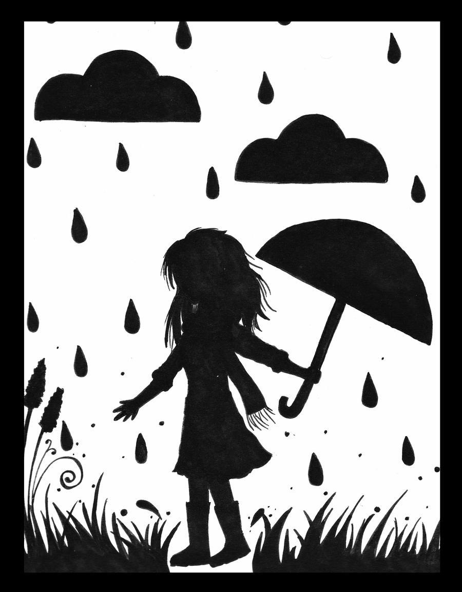 dancing in the rain. by xxtasnim on DeviantArt