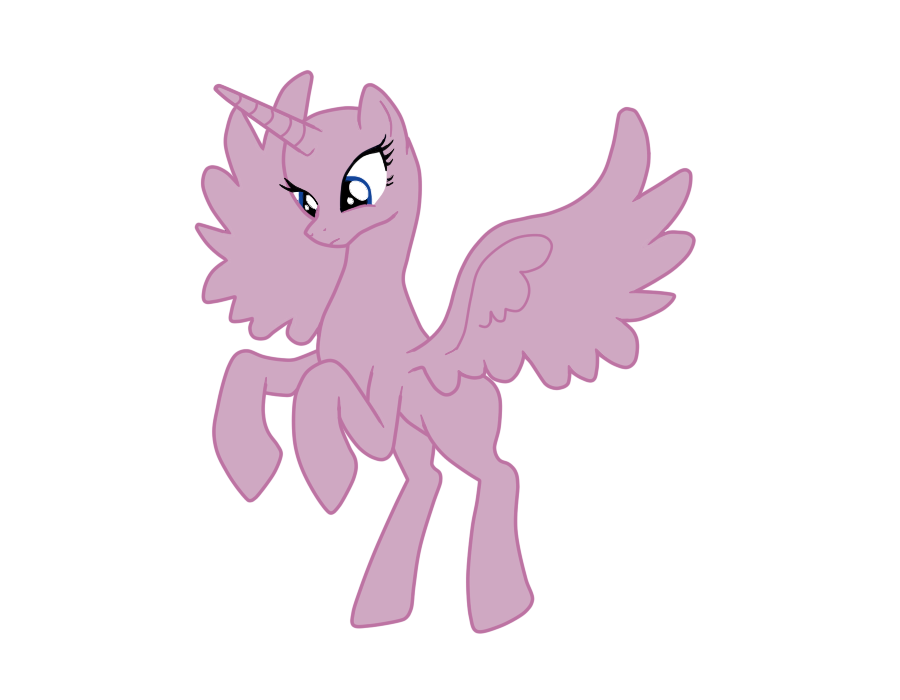 Mlp Alicorn Base: Alicorn Base By Ask-ThePonyQueen On DeviantArt