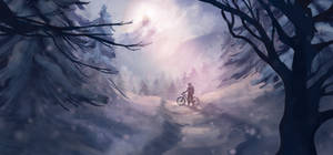 Mountain Path by Kornderia