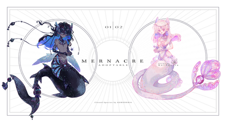 [OPEN] CS Adoptable: Mernacre 02 by Kornderia