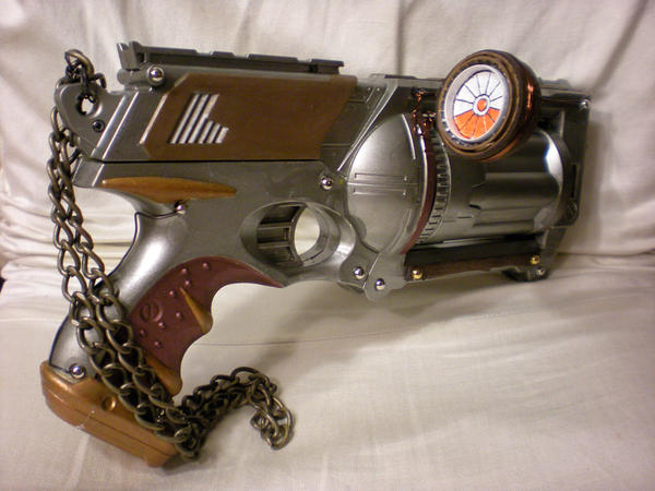 Steampunk Gun -nerf mod- by StudioSandM