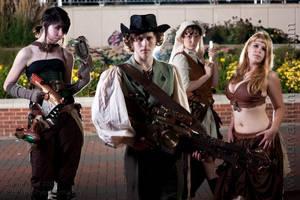 Steampunk Group by StudioSandM