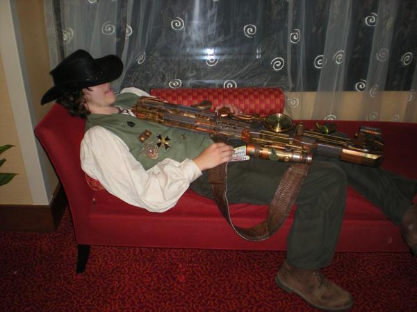 The Sleeping Rouge Assassin by StudioSandM