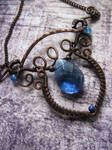 Enchanted Wire Wrapped Copper Necklace