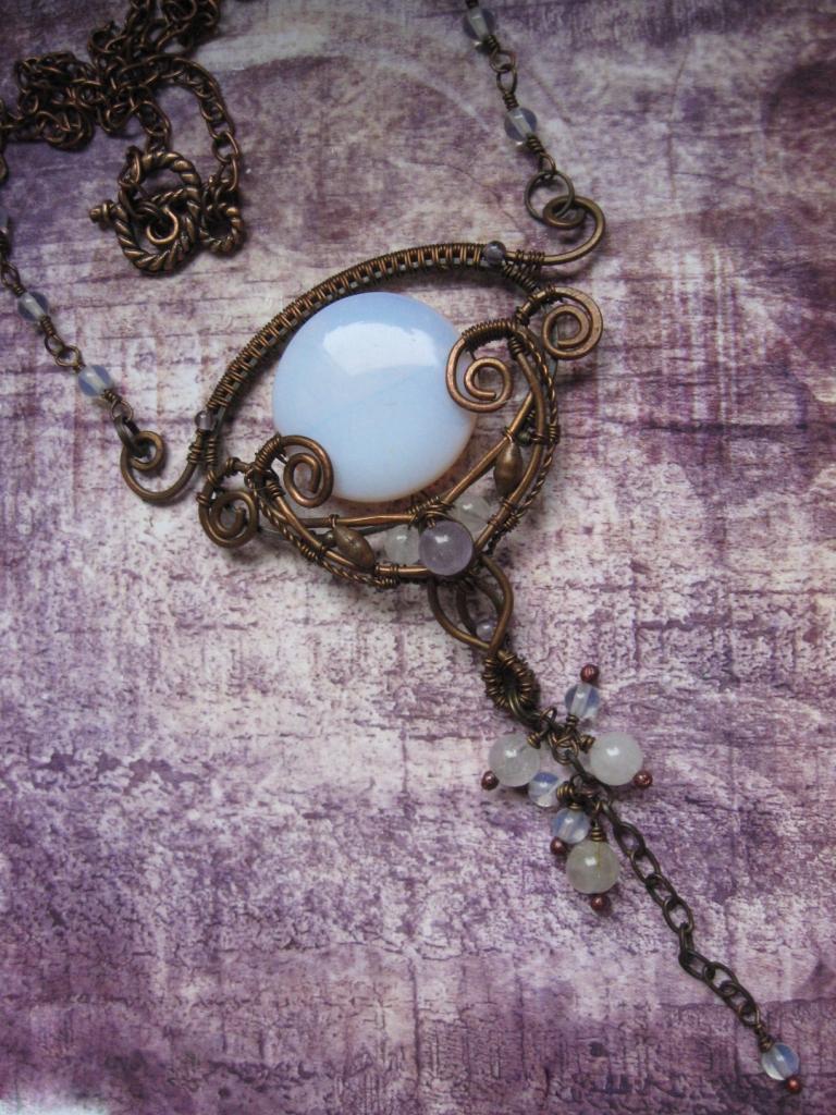 Lunar Path Necklace by Lirimaer86
