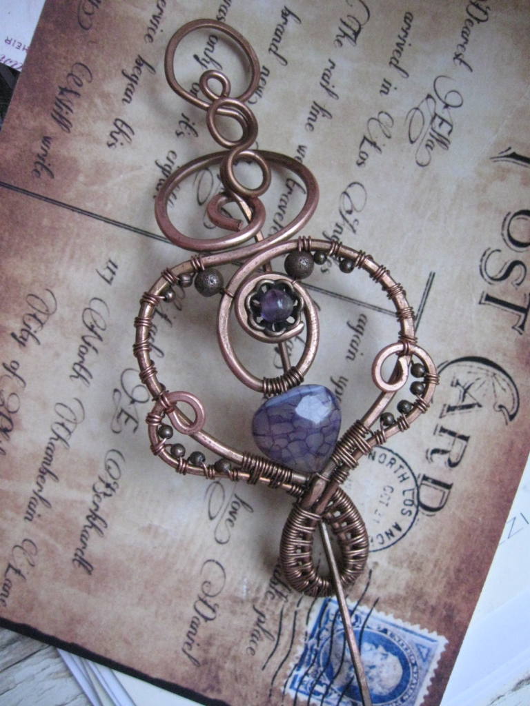 Elegant Shawl Pin by Lirimaer86