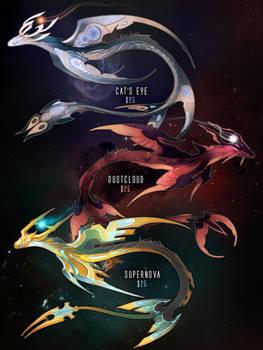 [SOLD] Nebular Wyrms