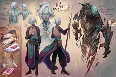 Nezaal - The Fallen Alpha! by al-kem-y