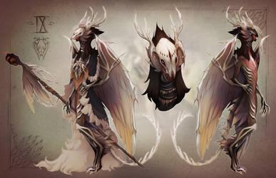 IX. Daimon of the Hollowed Bones by al-kem-y