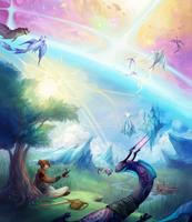 The Boundless Sky by al-kem-y