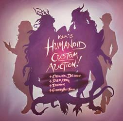 [OPEN] Humanoid Custom Auction!!