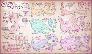 Sacred Taurians: Semi-Open Species Guide