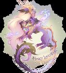 Aetherlings: Honey Lavender Macaron