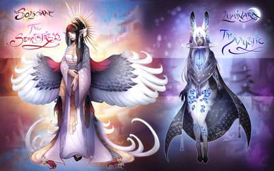 [OPEN] Solscian + Luminara: Seamstress and Mystic by Alkemistry