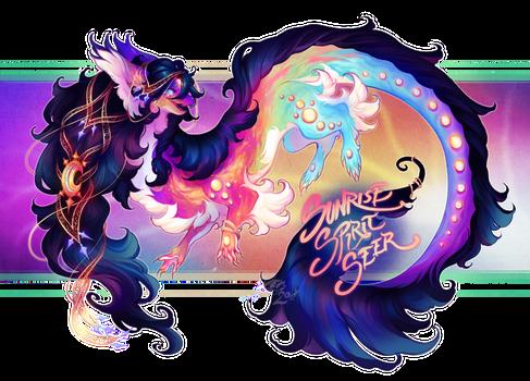 Custom Aetherling: Sunrise Spirit Seer