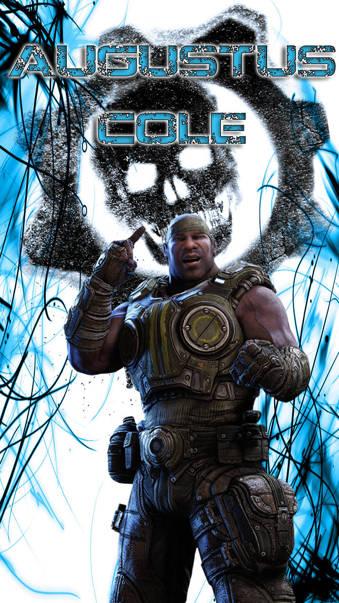 Gears Of War Augustus Cole Mobile Phone Wallpaper By Mainboy Uk On