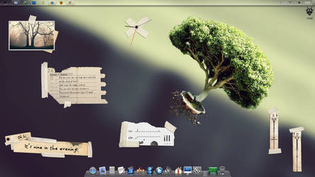 Rainmeter on Lion X for seven