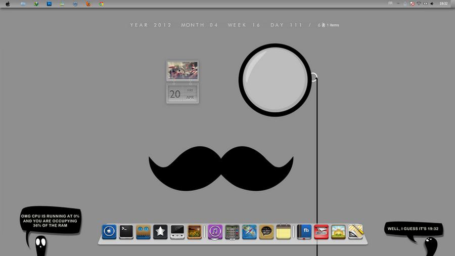 Moustache by SirdubbleB