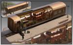 TRAIN BAR design