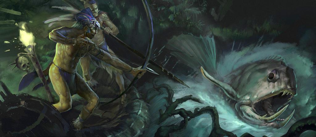 Aztec night hunt