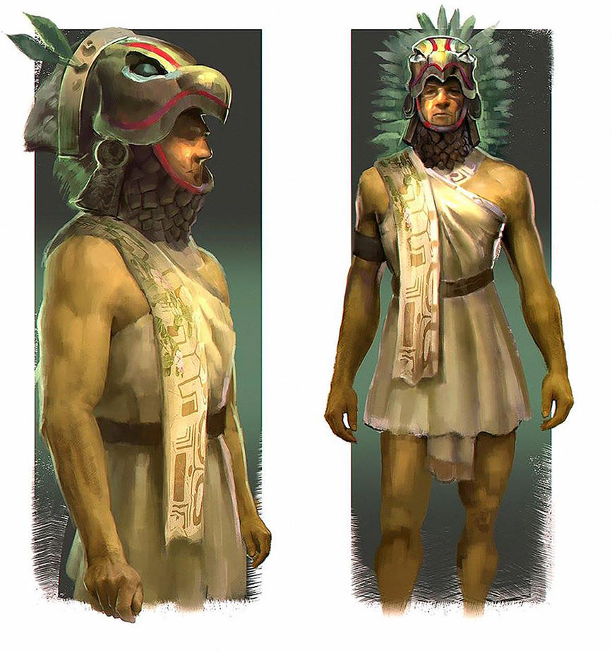 aztec eagle design by krasenmaximov on deviantart