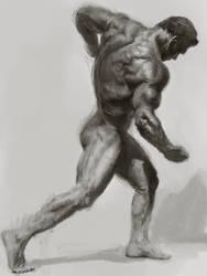 Bodybuilder sketch