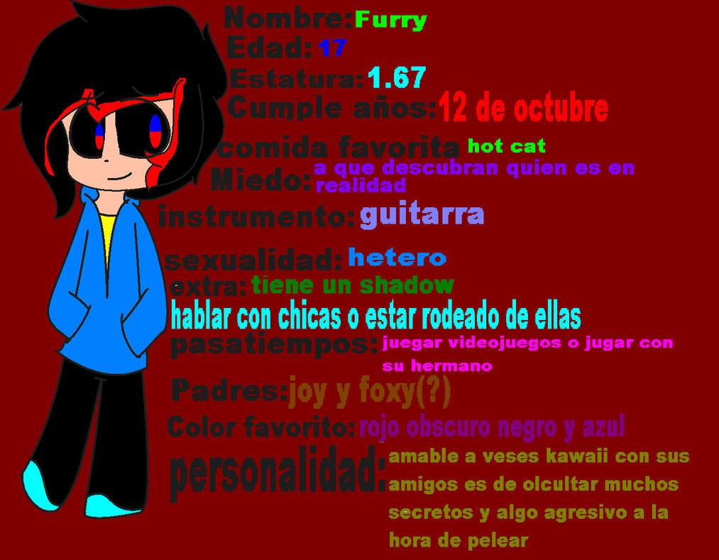 Ficha de Furry by EraserMatsunoMusic